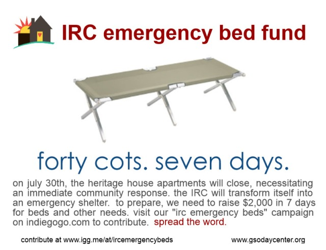emergency cots